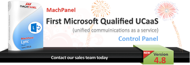 MachPanel Lync - Microsoft Validated Lync Application