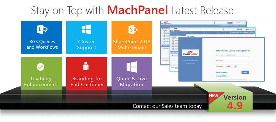 MachPanel 4.9 - Stay On Top with MachPanel Latest Release